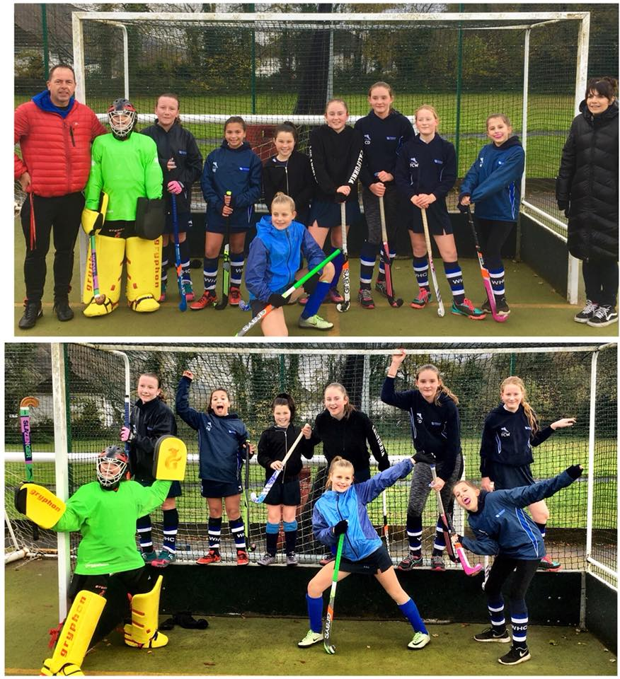 WHC D u13 girls - 12th Nov 17