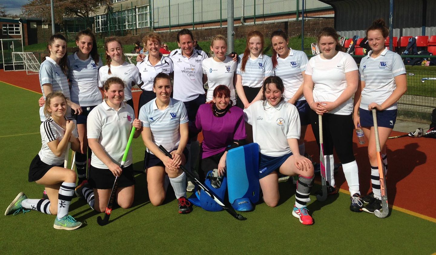 WHC Saints 5s Team photo Taken 2nd April 17